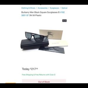 🕶 BURBERRY sunglasses 😎